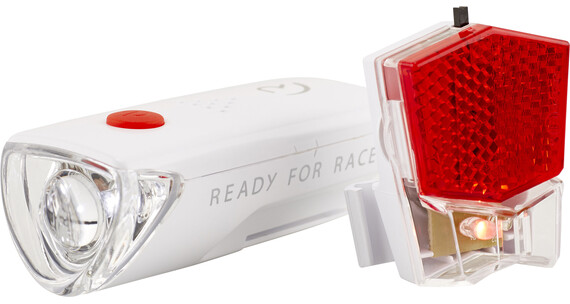 RFR CMPT - Kit éclairage vélo - blanc